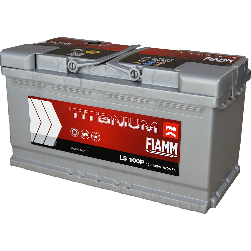 Automotive Battery 12v 100ah 870a Titanium Pro L5 100p