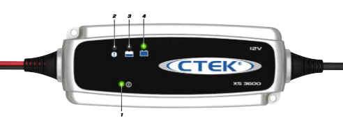 CTEK XS 3600