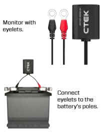 CTEK CTX Battery Sense installation