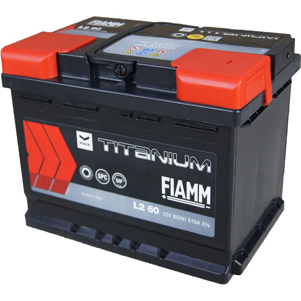 automotive battery 12v 60ah 510a titanium black l2 60. Black Bedroom Furniture Sets. Home Design Ideas