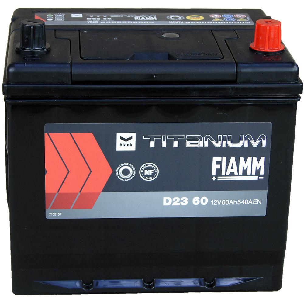 automotiva battery 12v 60ah 540a titanium black japan d23. Black Bedroom Furniture Sets. Home Design Ideas