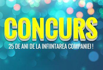 """""""CONCURS – CARANDA 25 ANI DE ACTIVITATE!"""""""