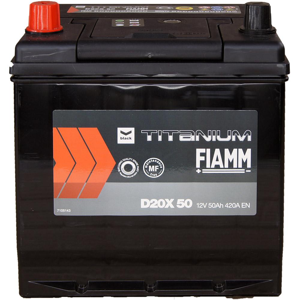 automotive battery 12v 50ah 420a titanium black japan inv d20x 50 caranda. Black Bedroom Furniture Sets. Home Design Ideas